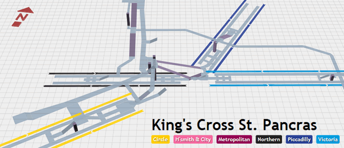 3D Map Of London Underground Stations Descrier News